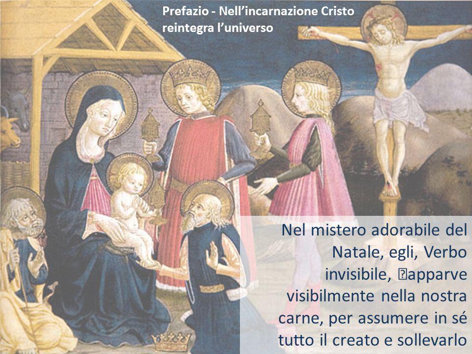 Prefazio - Nell'incarnazione Cristo