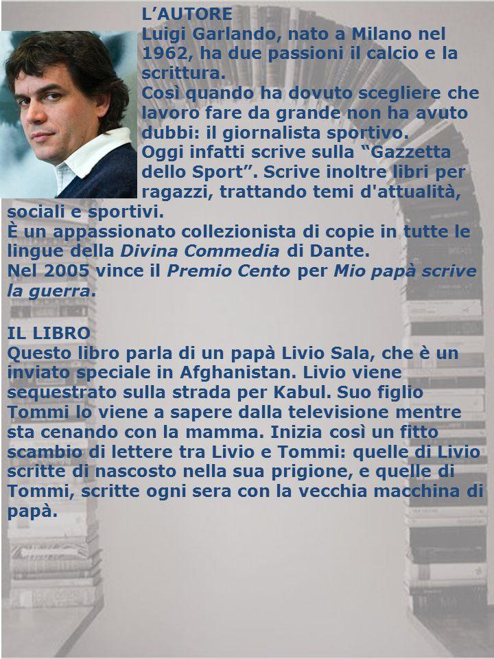 L'AUTORE Luigi Garlando, nato a Milano nel. 1962, ha due passioni il calcio e la. scrittura. Così quando ha dovuto scegliere che.