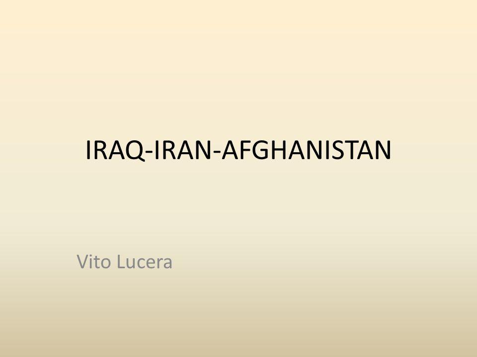 IRAQ-IRAN-AFGHANISTAN