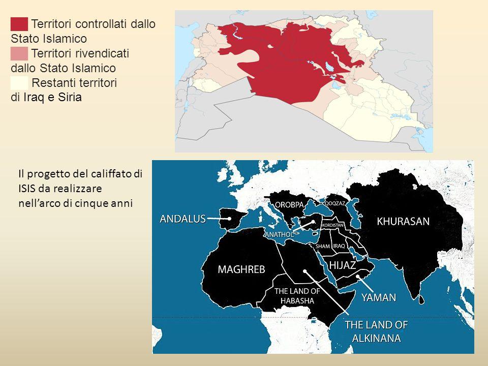 ██ Territori controllati dallo Stato Islamico