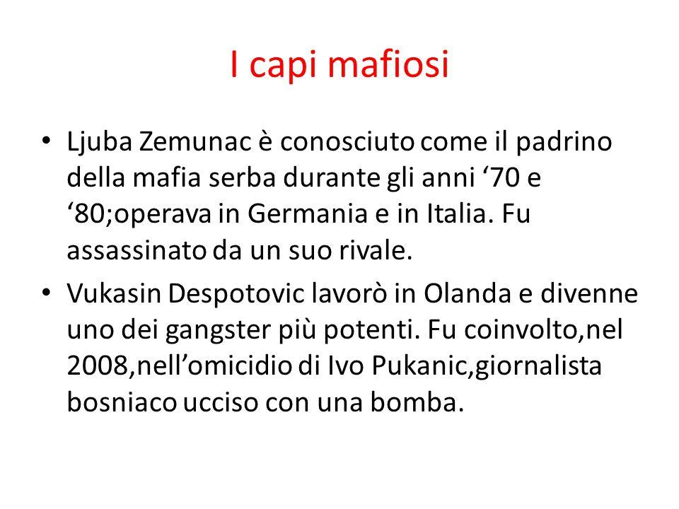 I capi mafiosi