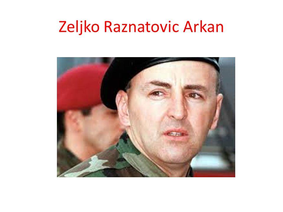 Zeljko Raznatovic Arkan