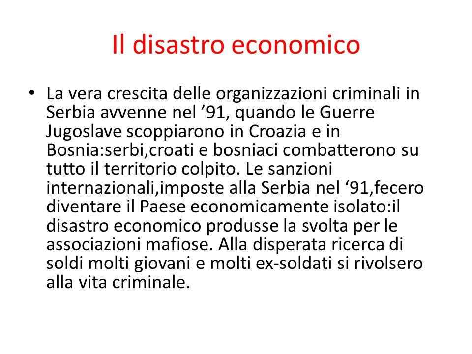 Il disastro economico