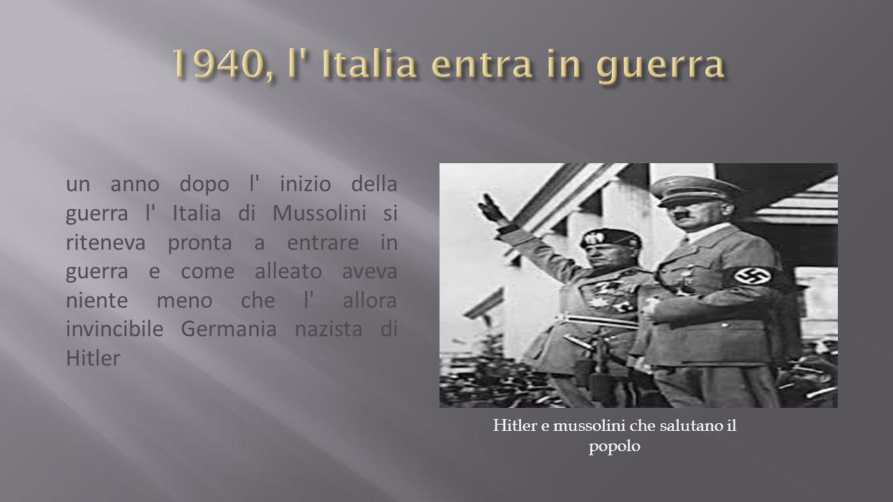 1940, l Italia entra in guerra