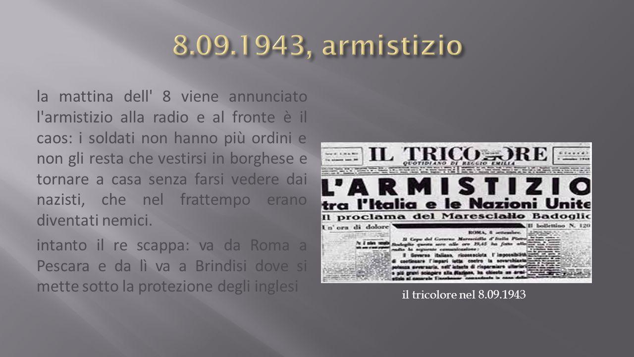 8.09.1943, armistizio