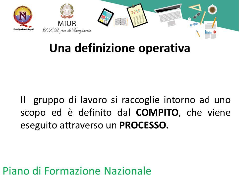 Una definizione operativa