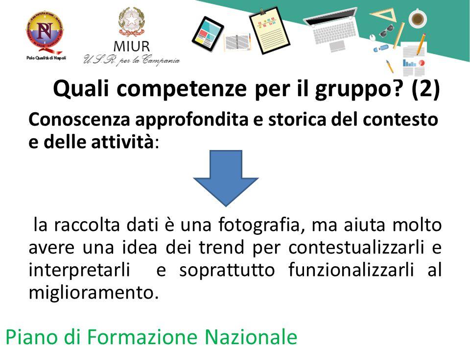 Quali competenze per il gruppo (2)