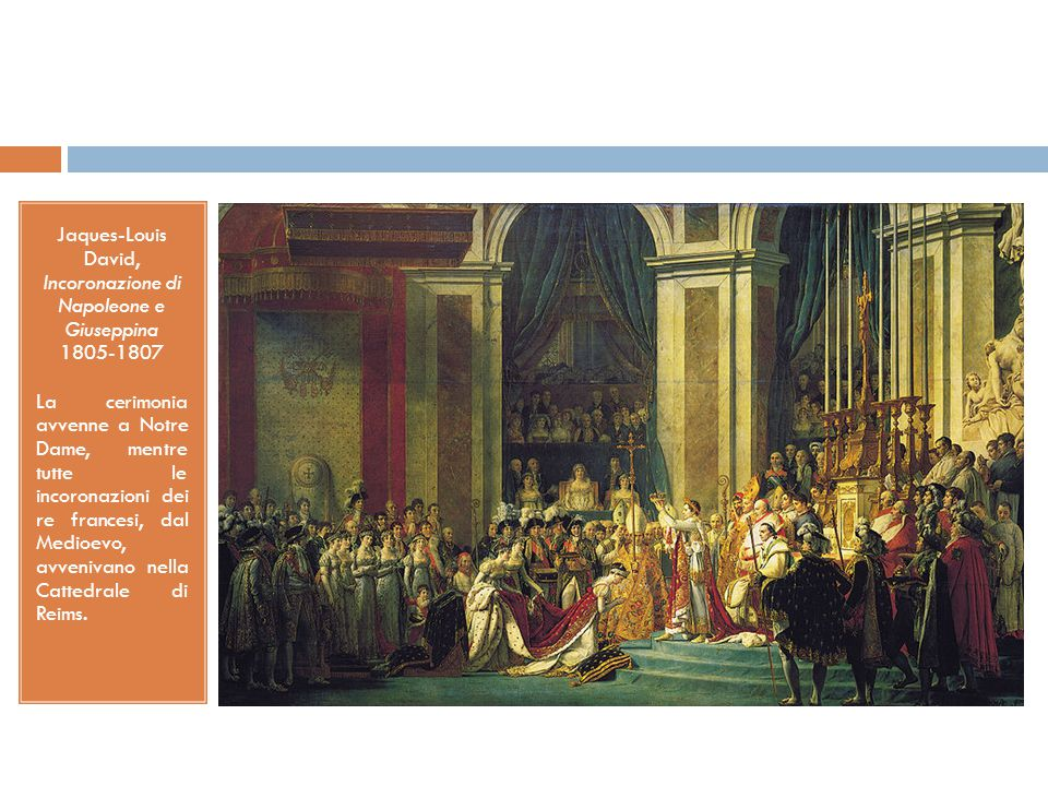 Jaques-Louis David, Incoronazione di Napoleone e Giuseppina 1805-1807