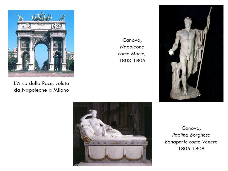 L'Arco della Pace, voluto da Napoleone a Milano