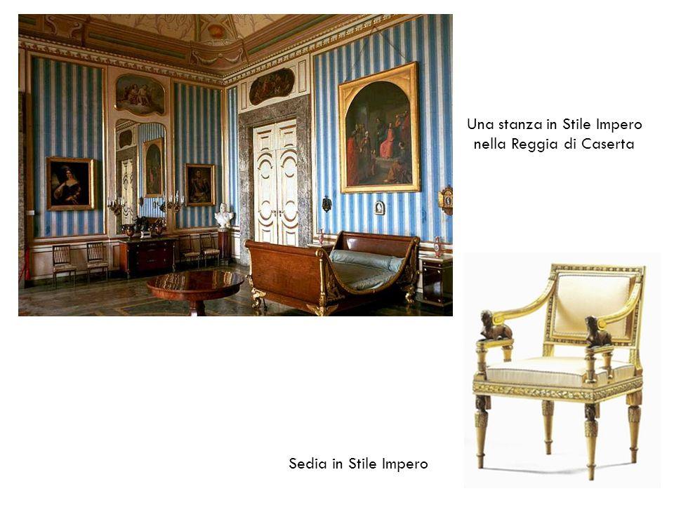 Una stanza in Stile Impero nella Reggia di Caserta