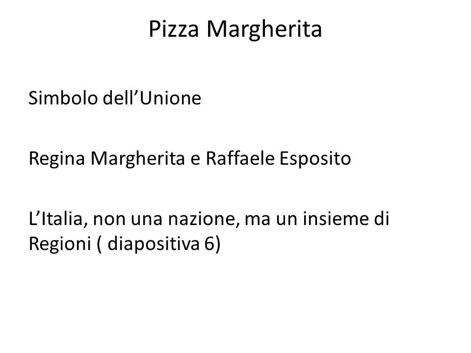 Pizza Margherita Simbolo dell'Unione