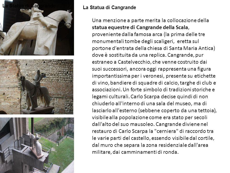 La Statua di Cangrande La Statua di Cangrande.