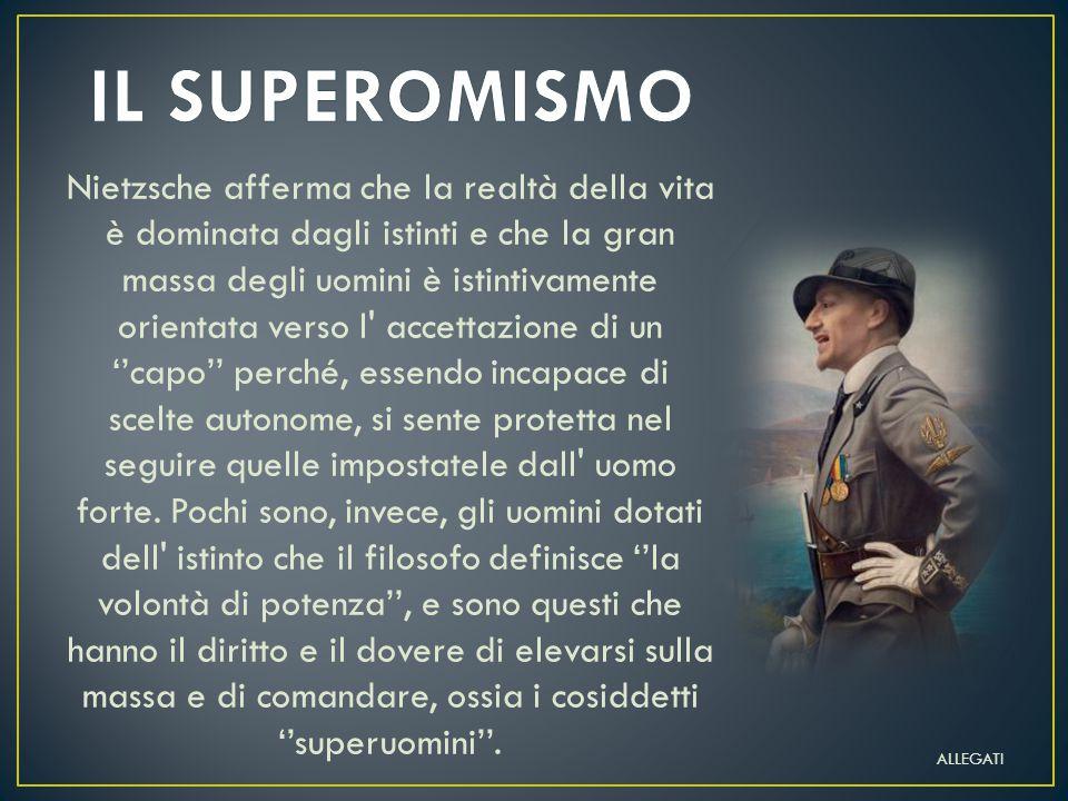 IL SUPEROMISMO