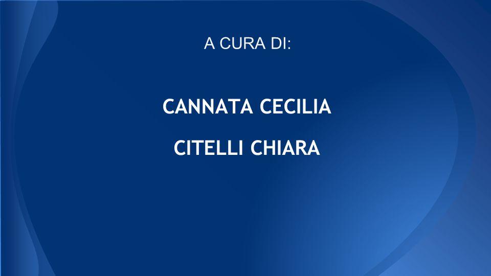 CANNATA CECILIA CITELLI CHIARA