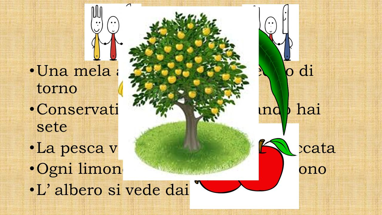 Frutta Una mela al giorno leva il medico di torno