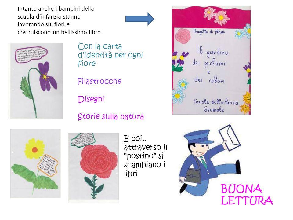 BUONA LETTURA Con la carta d'identità per ogni fiore Filastrocche
