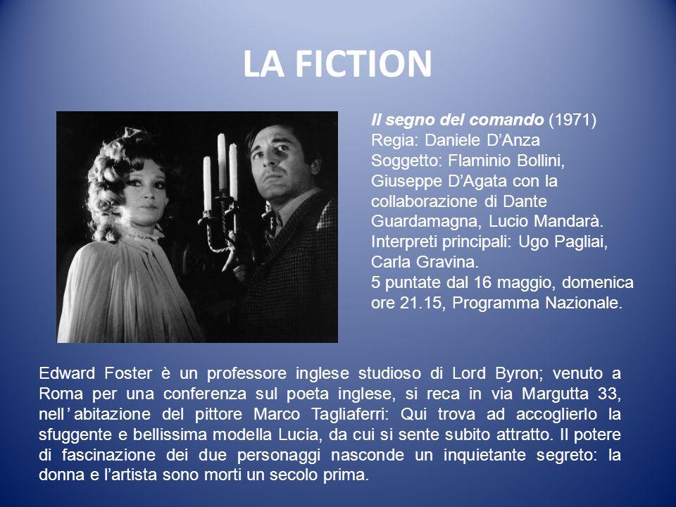 LA FICTION Il segno del comando (1971) Regia: Daniele D'Anza
