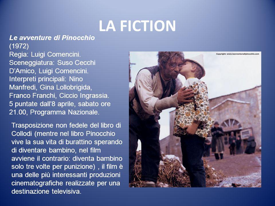LA FICTION Le avventure di Pinocchio (1972) Regia: Luigi Comencini.