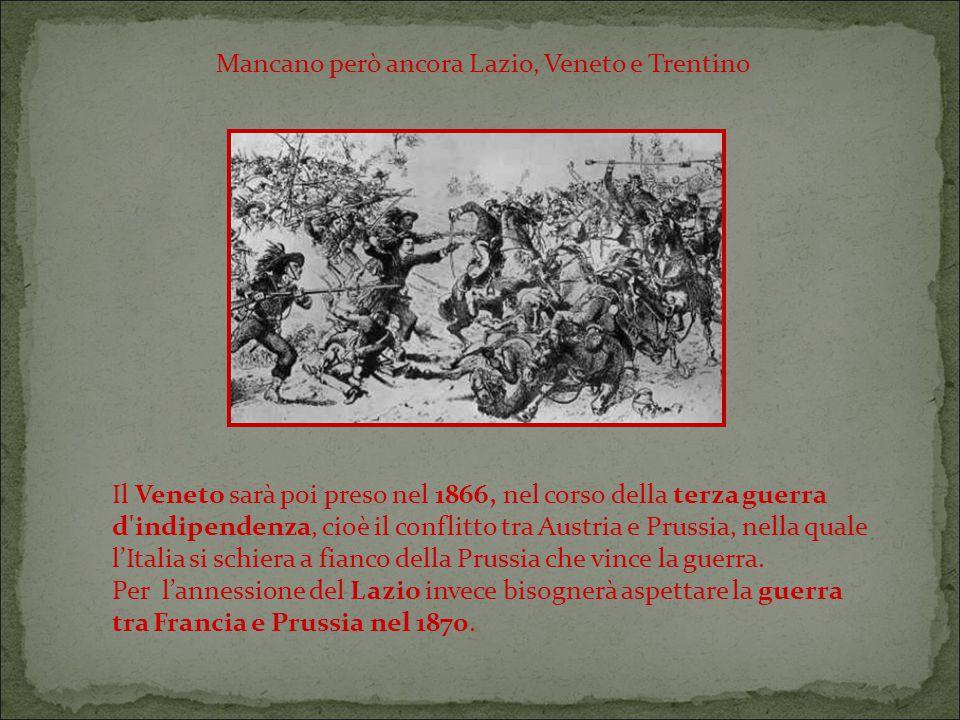 Mancano però ancora Lazio, Veneto e Trentino