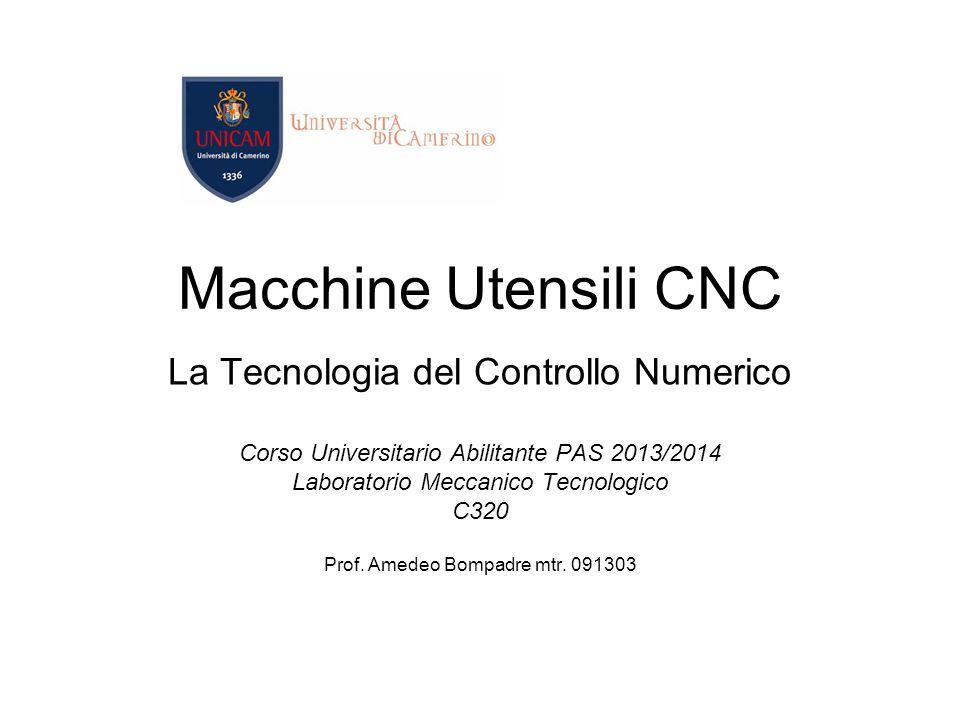Macchine Utensili CNC La Tecnologia del Controllo Numerico