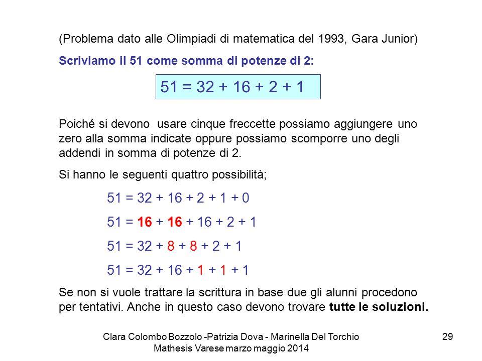 (Problema dato alle Olimpiadi di matematica del 1993, Gara Junior)