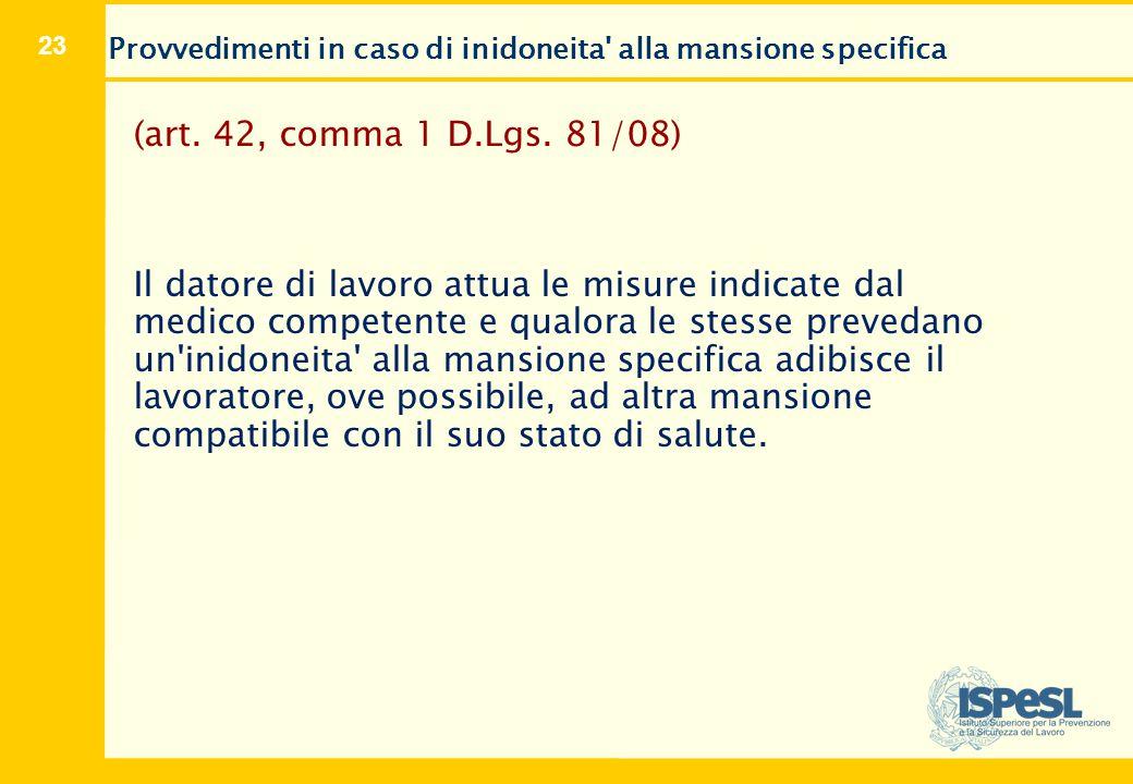 Ricorso (art. 41, comma 9 D.Lgs. 81/08 e s.m.i.)