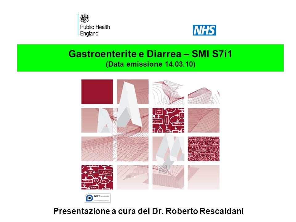 Gastroenterite e Diarrea – SMI S7i1