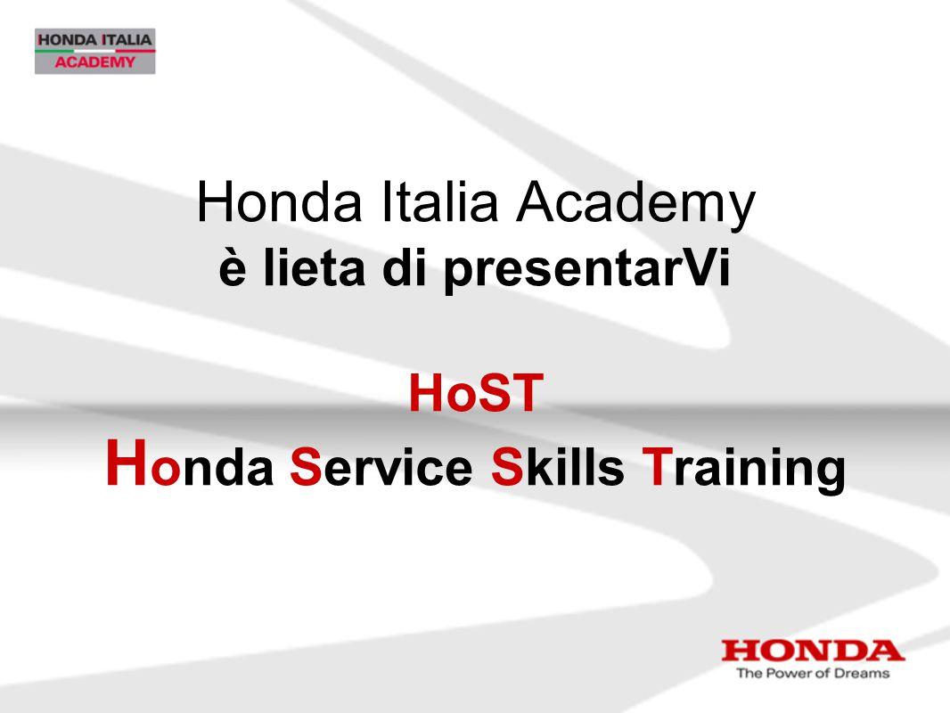 Honda Italia Academy è lieta di presentarVi HoST Honda Service Skills Training