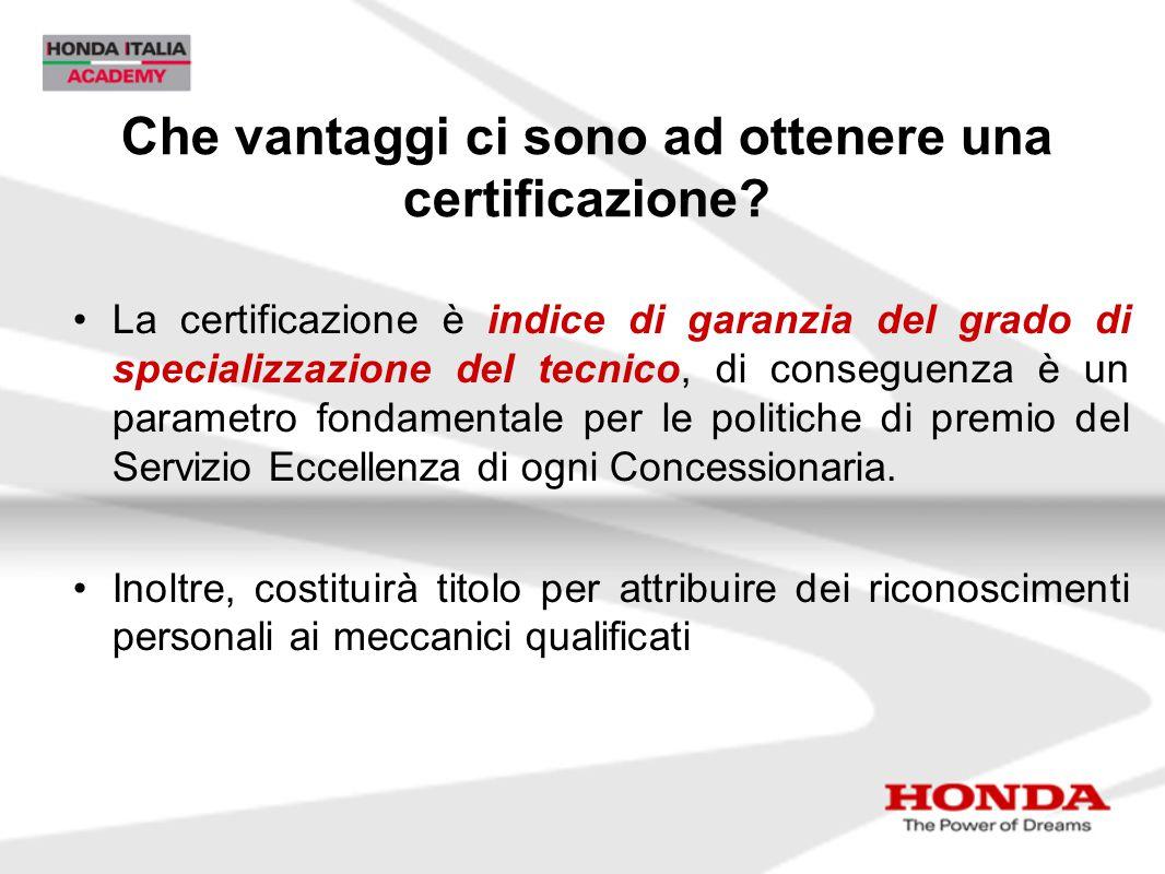 Che vantaggi ci sono ad ottenere una certificazione