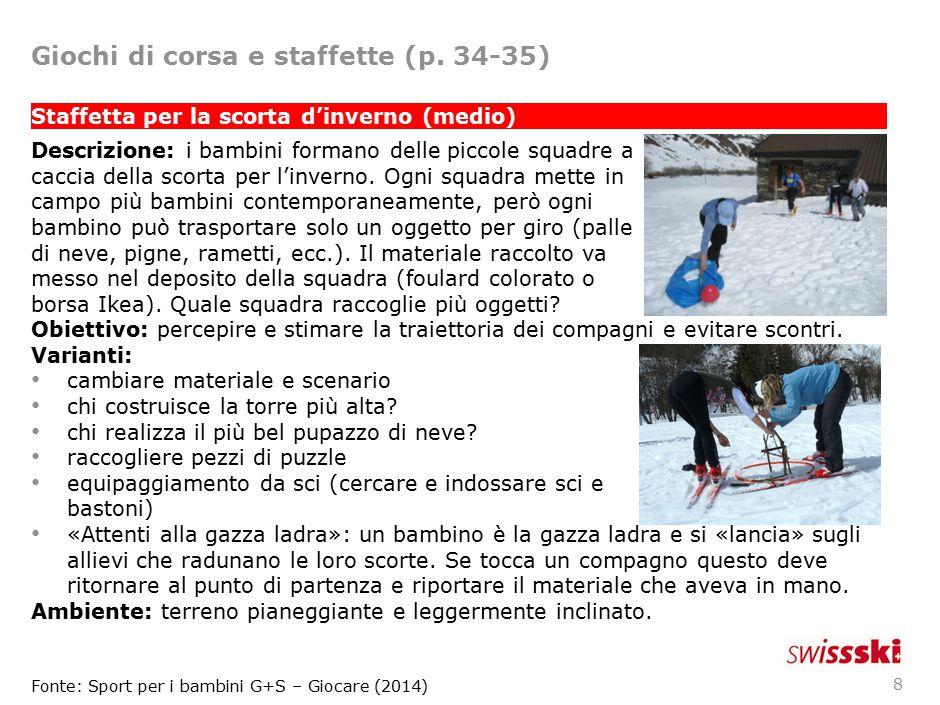 Giochi di corsa e staffette (p. 34-35)