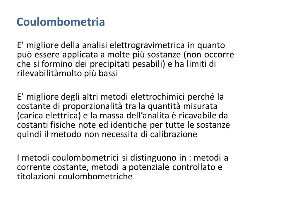 Coulombometria