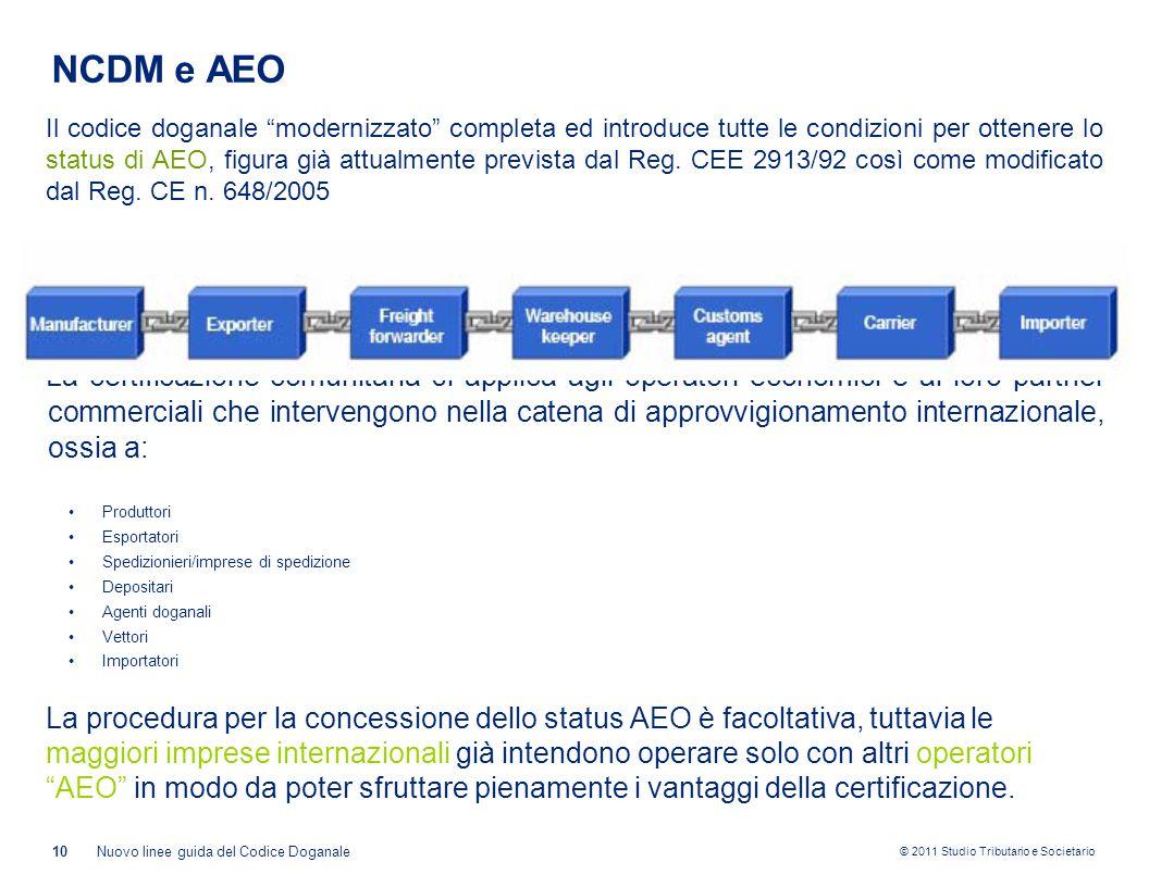 NCDM e AEO