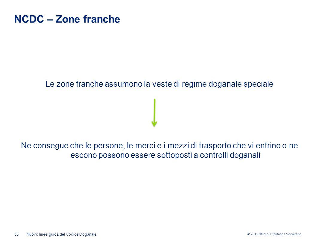 NCDC – Zone franche