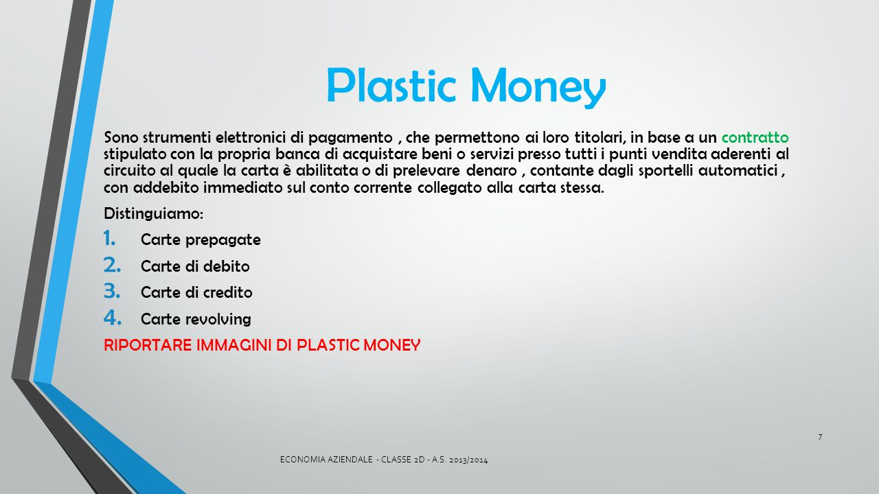Plastic Money