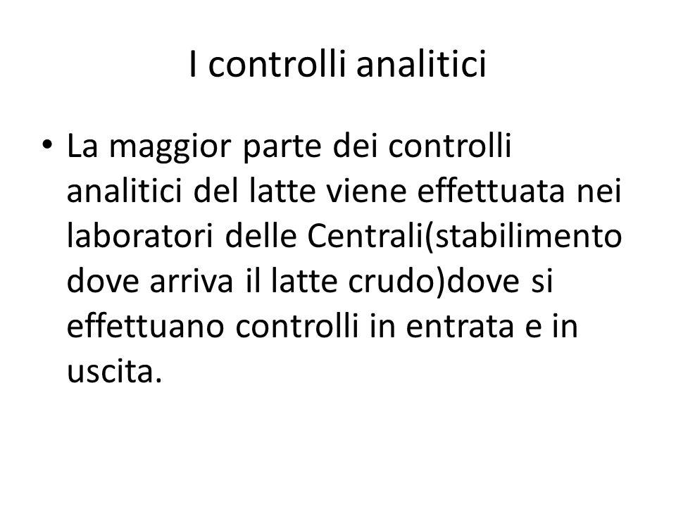 I controlli analitici