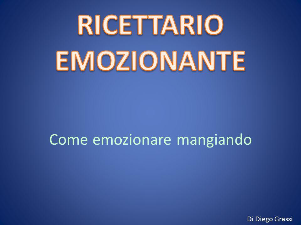 RICETTARIO EMOZIONANTE