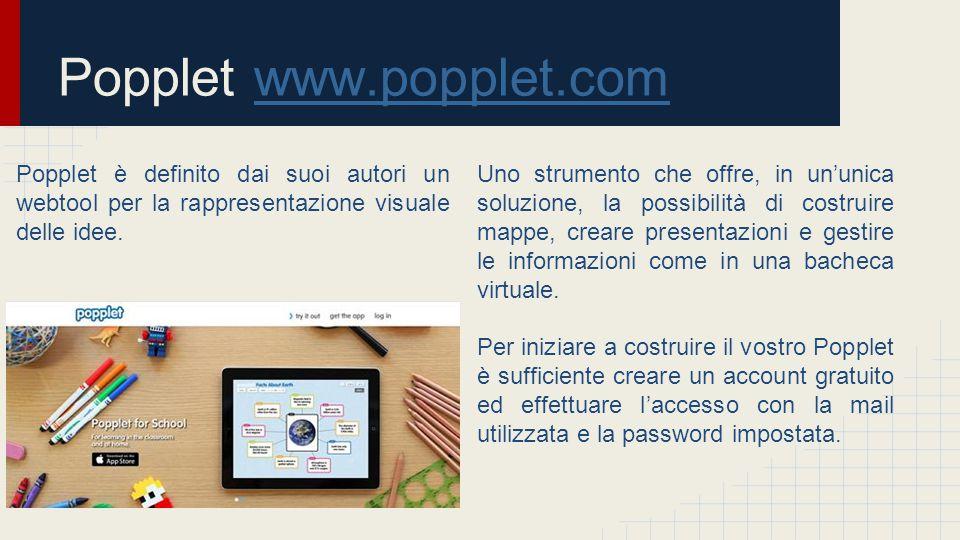 Popplet www.popplet.com