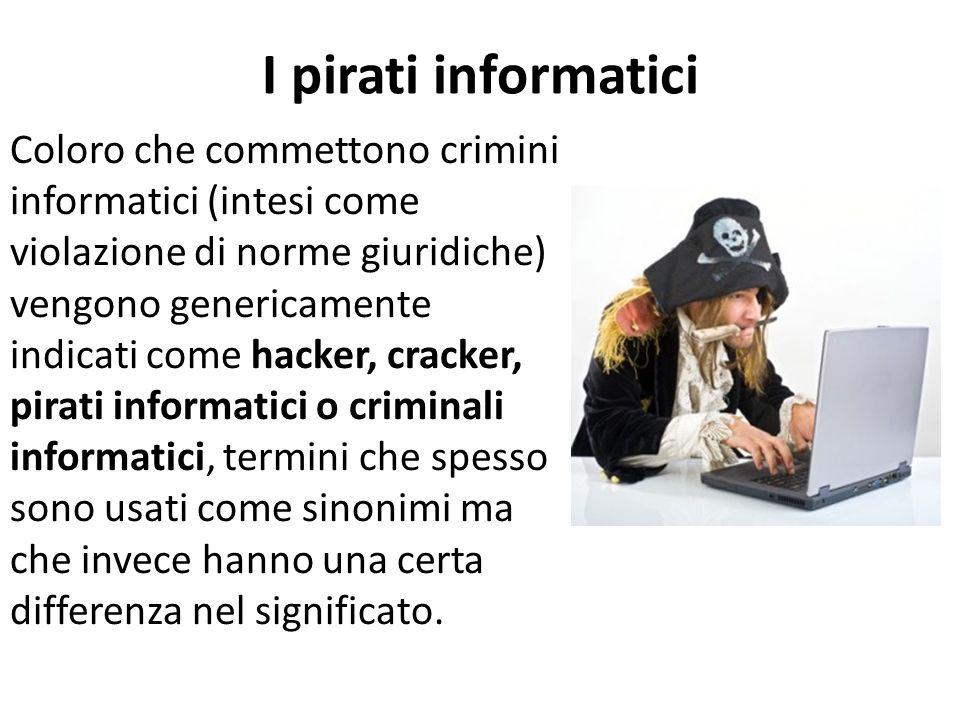 I pirati informatici