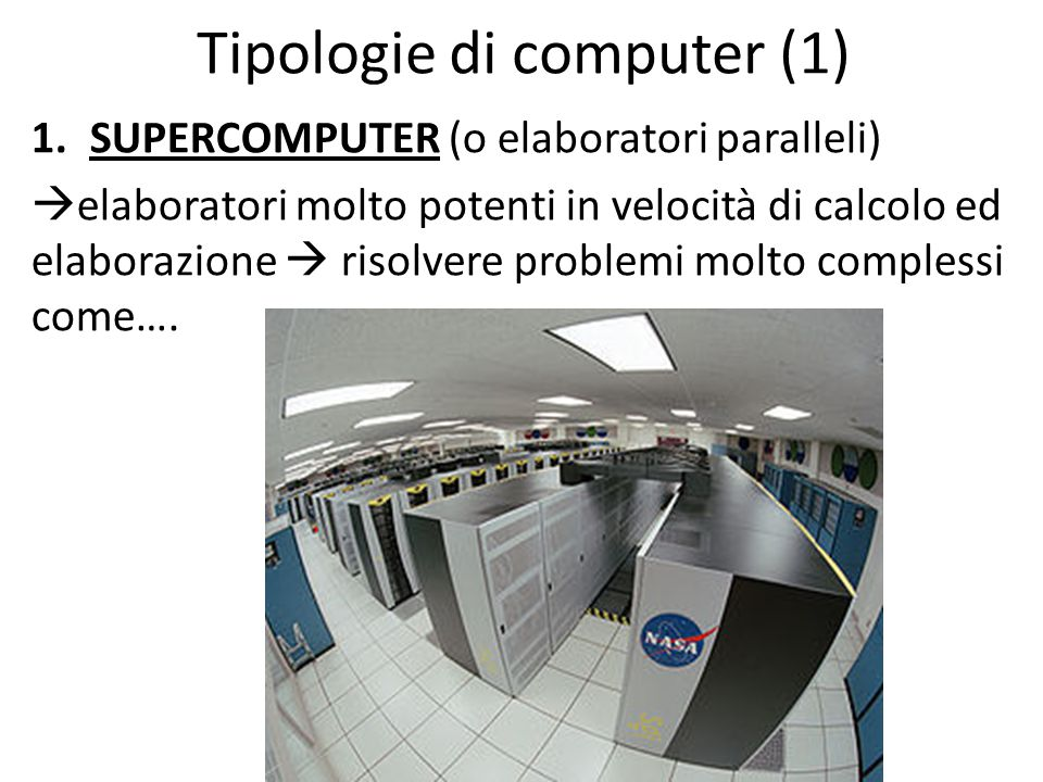Tipologie di computer (1)