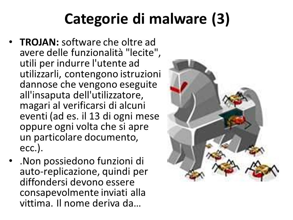 Categorie di malware (3)