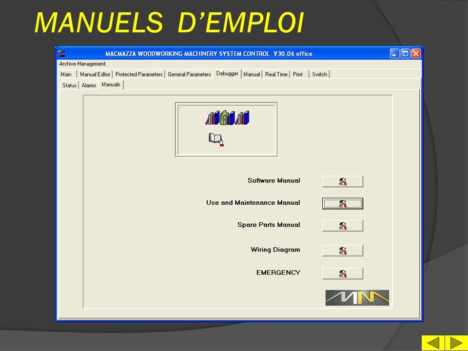 MANUELS D'EMPLOI