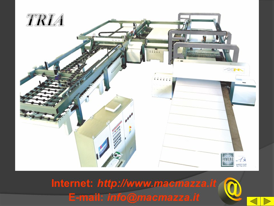 Internet: http://www.macmazza.it E-mail: info@macmazza.it