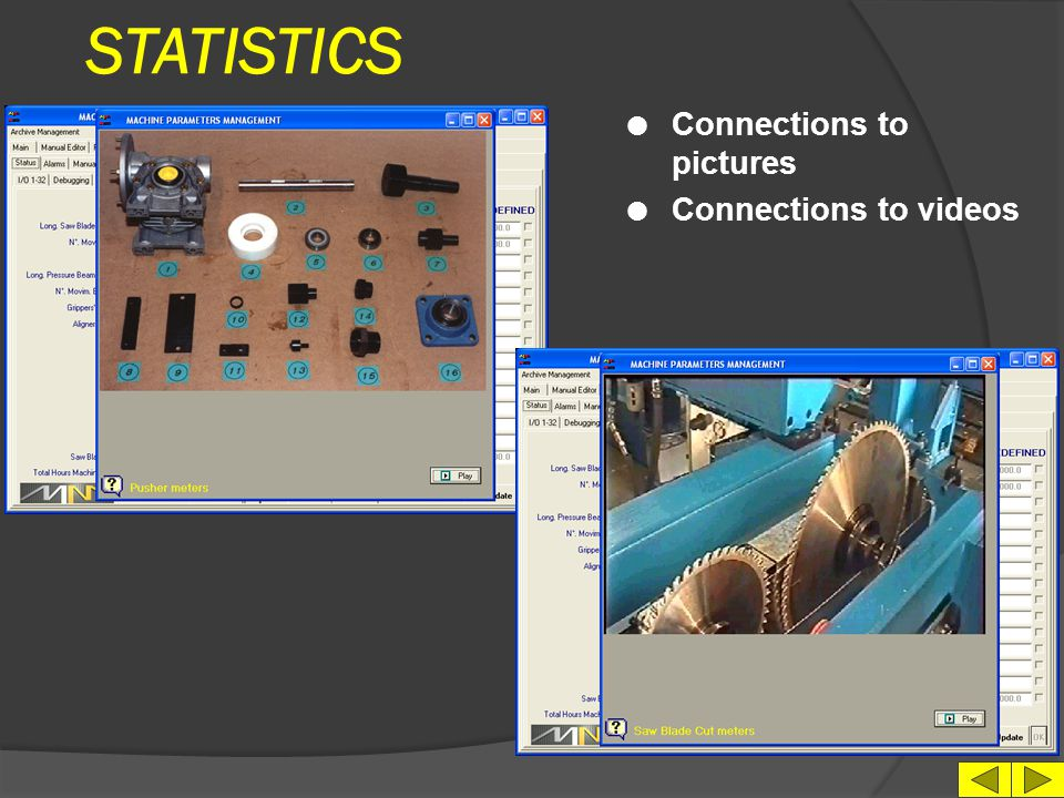 STATISTICS Connections to pictures Connections to videos