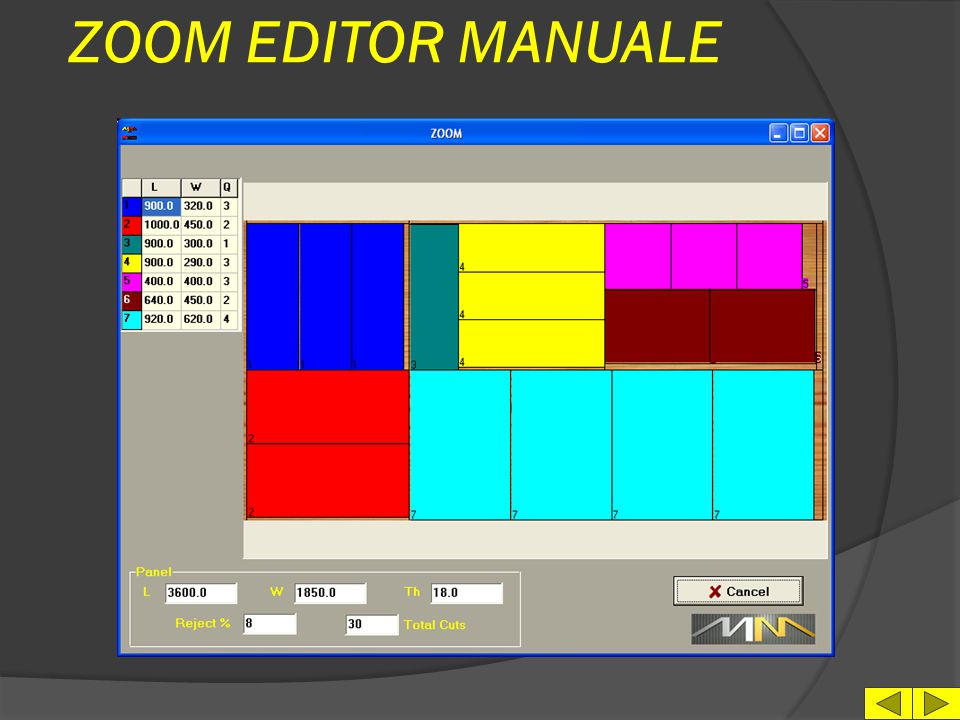 ZOOM EDITOR MANUALE