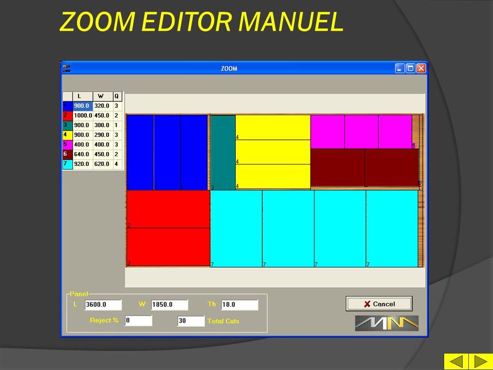 ZOOM EDITOR MANUEL