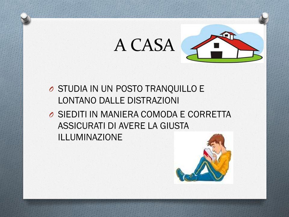 A CASA STUDIA IN UN POSTO TRANQUILLO E LONTANO DALLE DISTRAZIONI