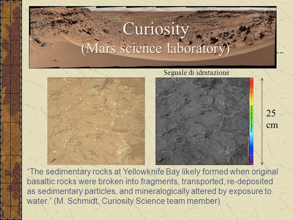 Curiosity (Mars science laboratory)