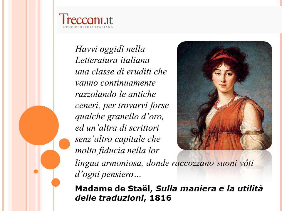 Havvi oggidì nella Letteratura italiana