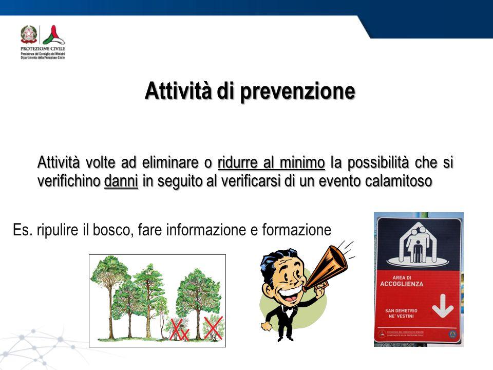 Attività di prevenzione