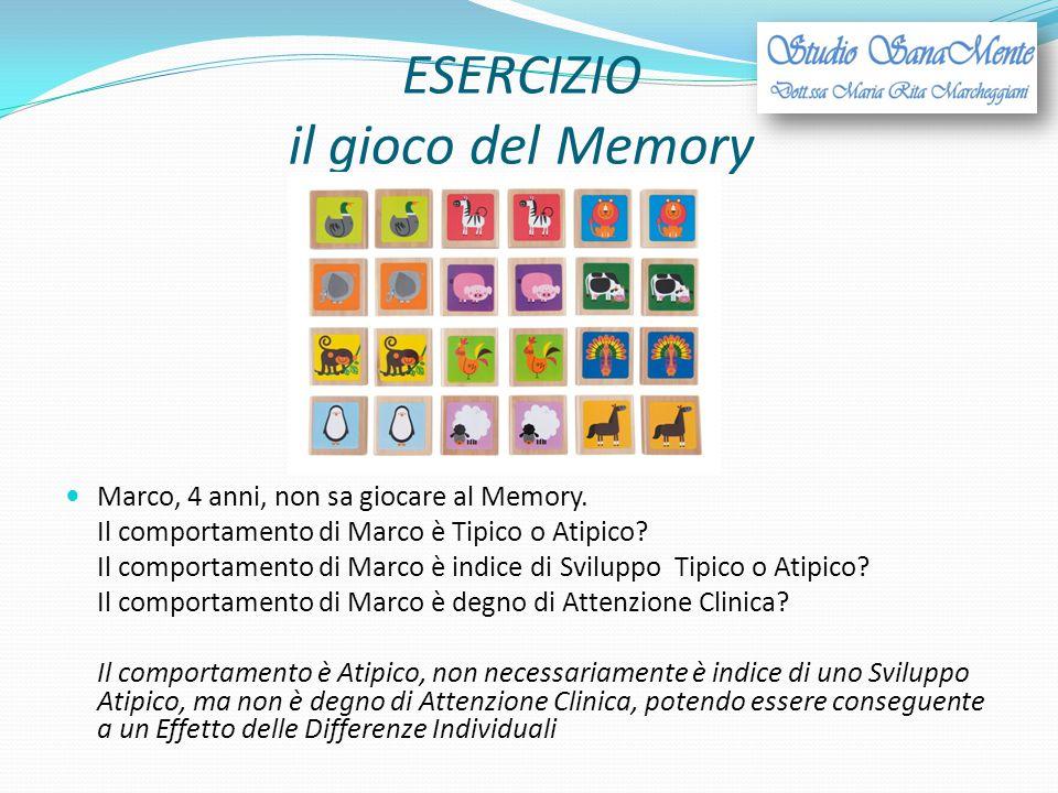 ESERCIZIO il gioco del Memory